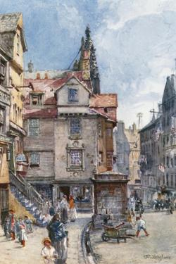 John Knox's House, High Street by John Fulleylove