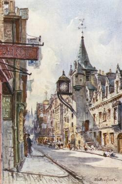 The Canongate Tolbooth, Looking West by John Fulleylove