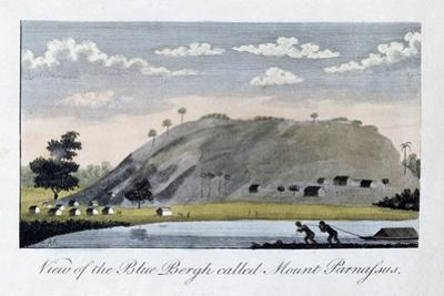 View of the Blue Bergh Called, Mount Parnassus, 1813