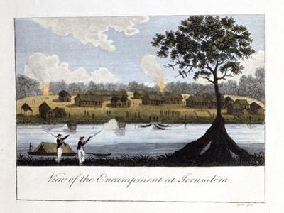 View of the Encampment at Jerusalam, 1813