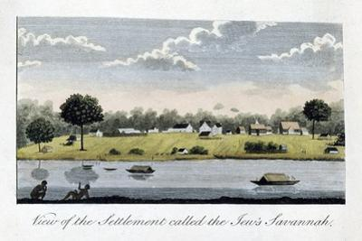 View of the Settlement Called the Jew's Savannah, 1813