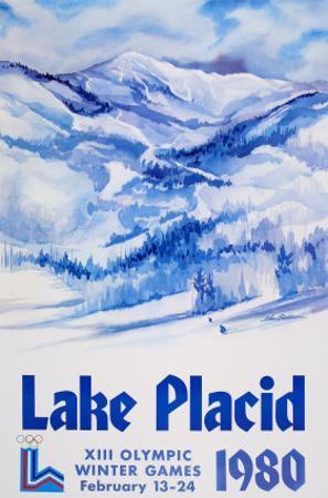 Lake Placid 1980 - Mountain Text