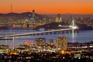 Bay Bridge from Berkeley by John Gavrilis