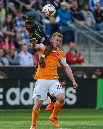 Apr 19, 2014 - MLS: Houston Dynamo vs Philadelphia Union - Maurice Edu