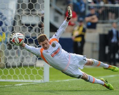 Apr 19, 2014 - MLS: Houston Dynamo vs Philadelphia Union - Zac MacMath by John Geliebter