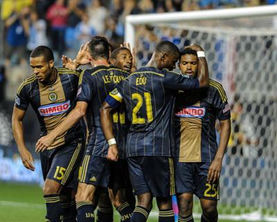 Aug 24, 2014 - MLS: San Jose Earthquakes vs Philadelphia Union - Maurice Edu, Sheanon Williams