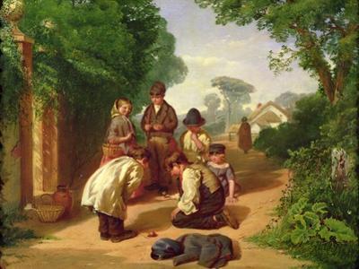 Children Spinning Tops