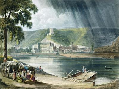 La Roche, from Views on the Seine, Engraved by Thomas Sutherland