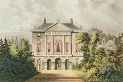 The New Lodge, Richmond Park, from Ackermann's 'Repository of Arts', Published C.1826