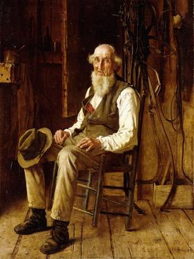 A Moment's Contemplation by John George Brown