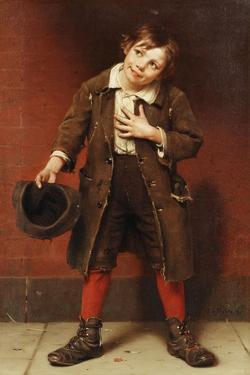 Beggar Boy, C.1885-1887 by John George Brown