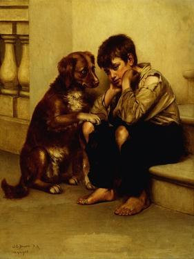 Best Friends by John George Brown