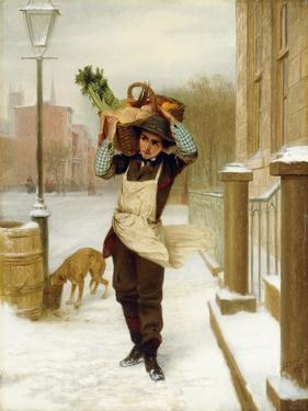 Delivery Boy, 1863 by John George Brown