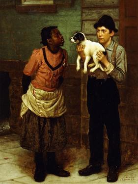 The New Puppy by John George Brown