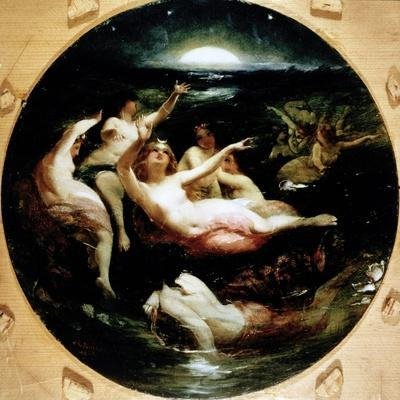 Diana and Her Nymphs, 1850