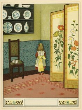 Victorian child sent to the corner as punishment by John George Sowerby