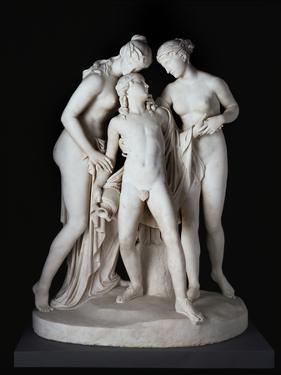 Hylas Surprised by the Naiades by John Gibson