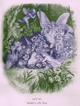 A Midsummer Night's Dream by William Shakaespeare by John Gilbert