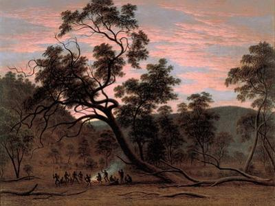 A Corrobery of Natives in Mill's Plains, 1832 by John Glover