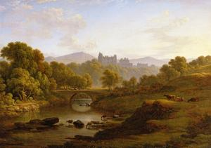 Doune Castle, Perthshire by John Glover