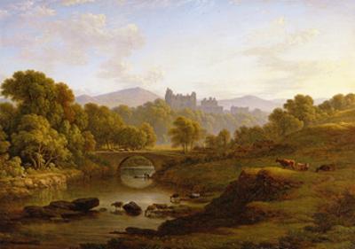 Doune Castle, Perthshire by John Glover
