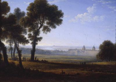 Greenwich Looking Towards the Thames by John Glover