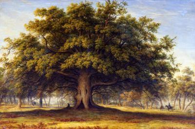 The Beggars Oak by John Glover