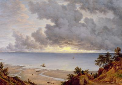 View from Shanklin, Isle of Wight, C.1827 by John Glover