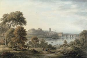 View of Chester by John Glover