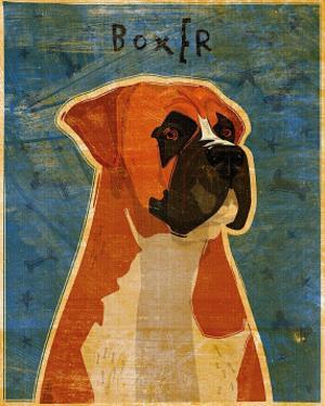 Boxer by John Golden