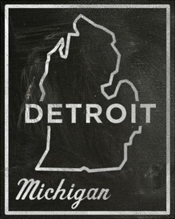 Detroit, Michigan by John Golden