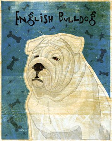 English Bulldog by John Golden