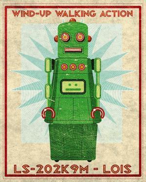 Lois Box Art Robot by John Golden