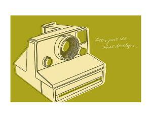 Lunastrella Instant Camera by John Golden