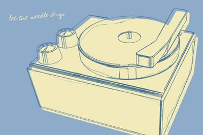 Lunastrella Record Player by John Golden