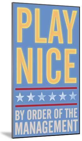 Play Nice by John Golden