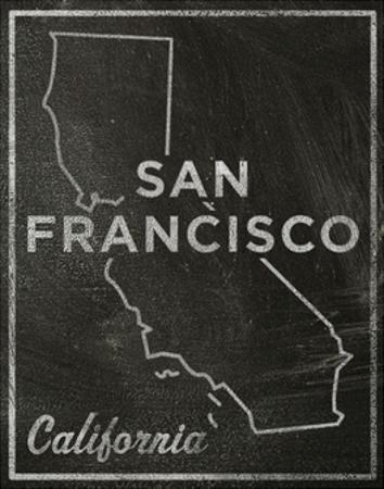 San Francisco, California by John Golden