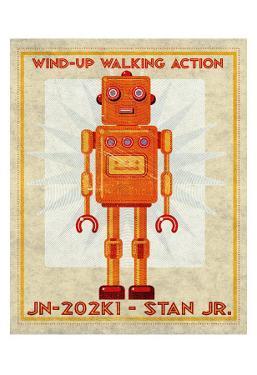 Stan Jr. Box Art Robot by John Golden