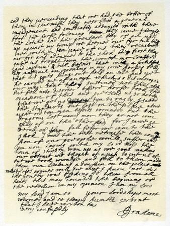 Letter from John Graham of Claverhouse to George Livingston, 1st June 1679