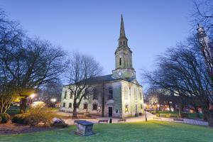 St. Paul's Church, Grade 1 listed building, Jewellery Quarter, Birmingham, England, United Kingdom, by John Guidi