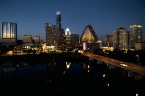 Austin Skyline 2010 by John Gusky