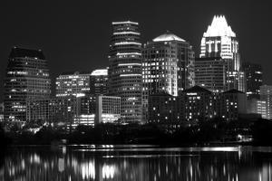 Austin Texas BW by John Gusky