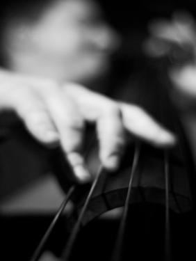 Bassist 1 BW by John Gusky
