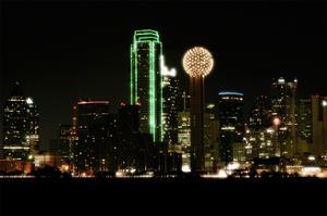 Dallas Skyline by John Gusky