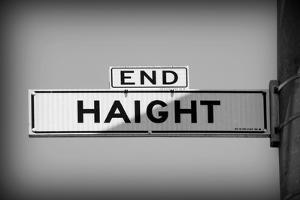 End Haight Mono by John Gusky