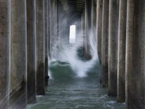 Huntington Pier 2 by John Gusky