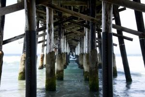 Newport Beach Pier by John Gusky