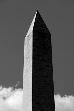 Washington Monument 2 BW by John Gusky