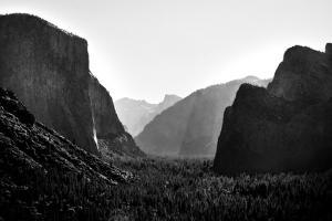 Yosemite Valley Mono by John Gusky