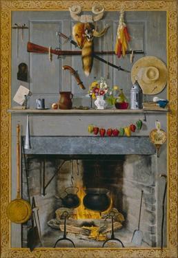 Grandma's Hearthstone, 1890 by John Haberle
